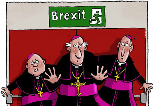 Catholic Brexit Cartoon
