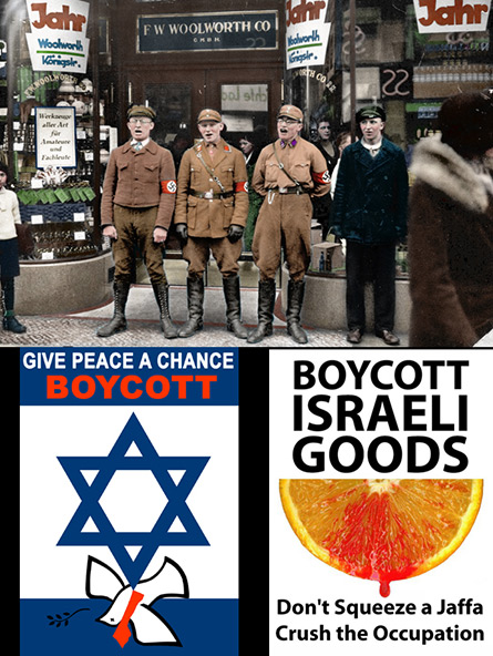 Boycotting Israel from the Nazis until today.