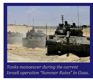 Israel re-engaged in Gaza.